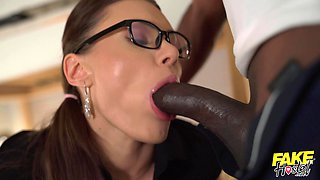 Kitana Lure and Lovita Fate fucked deep by one large black dick