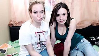 Clothed european lesbian glamour lesbian babe ass rimming