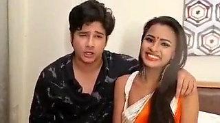 Ritika Ansari endorsing her movie Sundari Bhabhi