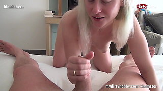 My Dirty Hobby - Blondehexe rides the pony