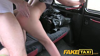 FakeTaxi: 26 year old can't receive sufficiently additional strapon