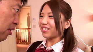Hottest Japanese chick Ena Sakura in Amazing JAV censored Swallow, Hairy scene