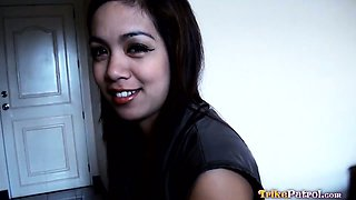 Beautiful young Filipina babe Ciara enjoys casual morning
