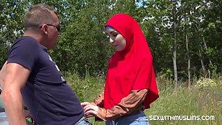 Steve Q In Fucking A Muslim In The Bushes Hd Video