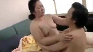 Asian Granny 80 Years Still Fucking