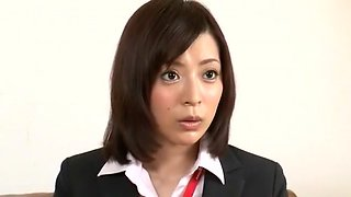 Fabulous Japanese model in Hottest Strapon, Threesomes JAV movie