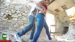 Arab Cute Big Ass Girlfriend 1