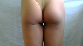 crossdresser pantyhose ripped 002