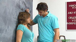 Rough Sex With Her Teacher For Chrissy Nova