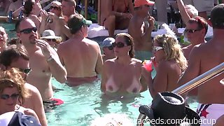 Swinger Nudist Pool Party For Fantasy Fest Dantes