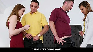 DaughterSwap - Horny Daughters Drain Their Dads Cocks