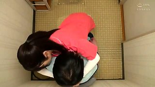 Naughty Asian babe feeds her hunger for cock on hidden cam