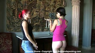 Houseguest gets paddled