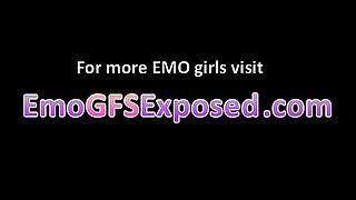 Small tits  emo girlfriend