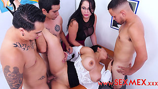sexmex gangbanging the teacher sofia caimanes