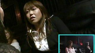 Asian lesbian sm fist show