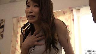 A Japanese Housewife Nextdoor Cuckold Fuck