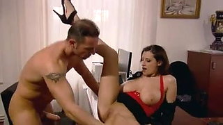 Sensual Secretary Fucks Her Boss