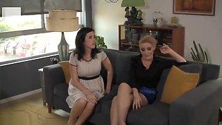 blackmail secretary become a maid