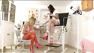 Hot Nurses Femdom