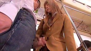 Horny Japanese whore Mahiru Hino in Exotic Voyeur, Close-up JAV movie