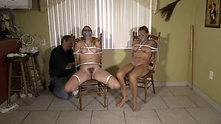 Mom and Daughter tied