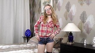 naughty Alexandra Ochkarik virgin casting
