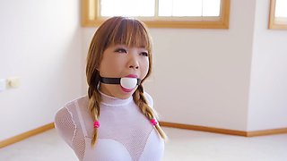 Enjoy being bound and gagged