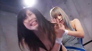 Incredible Japanese model in Hot Lesbian/Rezubian, Party JAV scene uncut