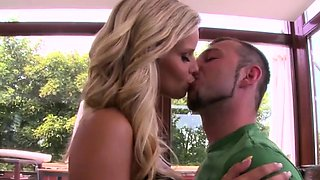 MOFOS -  Bath, Bed and anal with Hot blonde Marry Queen