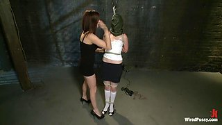 Amazing fetish porn scene with best pornstars Princess Donna Dolore and Sloane Soleil from Wiredpussy