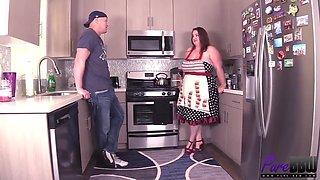 Big Tits Kitchen Fucking
