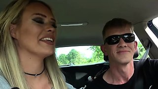german amateur milf outdoor fuck at car hitchhiker