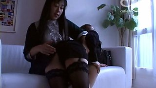A Young Adult is Spanked