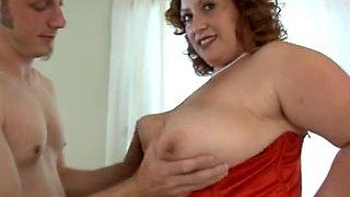 Nikki Cars (American, White big beautiful woman) & a chap
