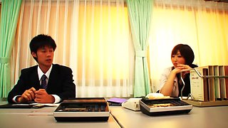 Amazing Japanese chick Asahi Mizuno in Fabulous couple, panties JAV movie