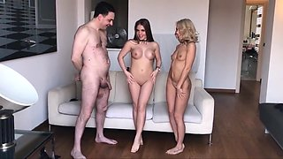 Horny amateur Russian, Femdom sex scene