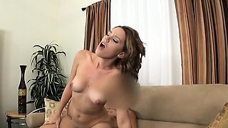 Fake agent midget fucks hot brunette amateur babe