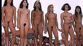 Nudist Cumpilation Strokin'