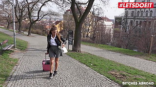 BITCHES ABROAD, Hot Czech Babe Silvia Dellai Has Rough Fun Abroad