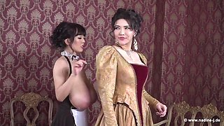 Hitomi & Anri - Queen and Maid
