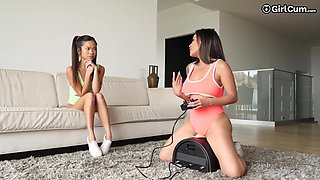 Lucky Man Fucks His Asian Wife And Her 18 Year Old Girl Vina Sky