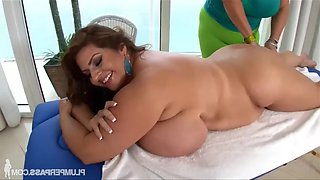 Massaging Maria Moore