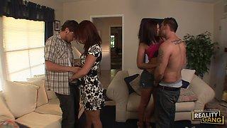 Swinger Fun With the Hot Babes Stephanie Richards & Shayne Ryder