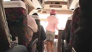 Crazy Japanese whore Ryo Sena, Rei Mizuna, Nao Mizuki in Best Bus, Cumshots JAV video