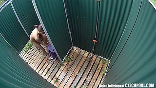 First Voyeur Cams on Real Public Pool