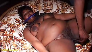 Kinky real african bbw fetish lesson