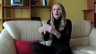 Quest for Orgasm - Ukranian vixen Ivana Sugar in erotic solo