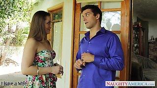 Too hot nextdoor milf Dani Daniels flirts and wants to be nailed hard