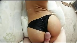 Cum on booty and pants compilation